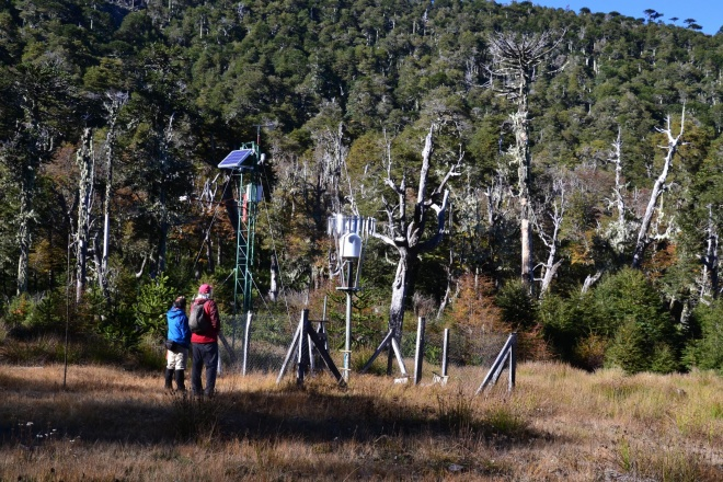 Mountain weather station to measure climate change impacts on andean ecosystems Enrique