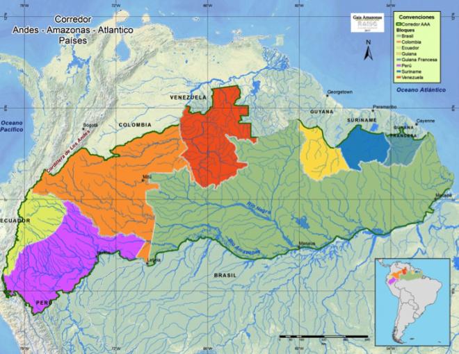 Andes-Amazon-Atlantic Corridor project